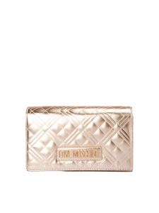 Love Moschino - Chain strap quilted cross body