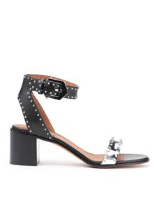Givenchy - Studded bicolour leather sandals