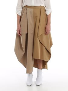Loewe - Cotton patchwork skirt