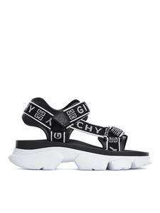 Givenchy - Jaw branded strap sandals