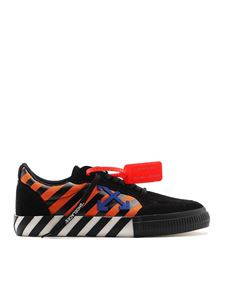 Off-White - Diag Low Vulcanized suede sneakers