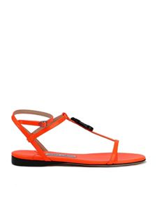 Jimmy Choo - Alodie sandals in orange