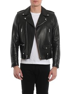 Saint Laurent - Leather jacket in black