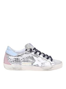 Golden Goose - Superstar laminated leather sneakers