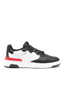 Givenchy - Wing leather low top sneakers