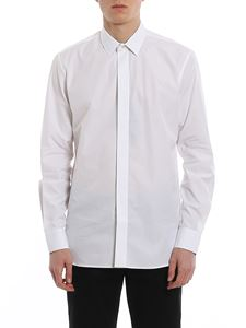 Saint Laurent - Shirt with pleated band