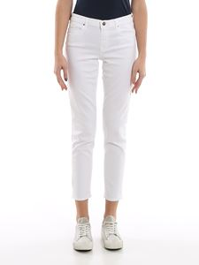 Jacob Cohën - Kimberly white straight leg jeans