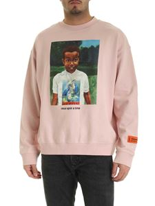 Heron Preston - Baby Heron sweatshirt in pink