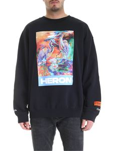 Heron Preston - Print sweatshirt in black