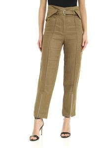 Iro - Tria pants in khaki color