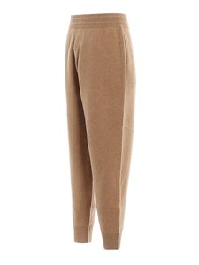 Burberry - Pantaloni sportivi Huntley in cashmere