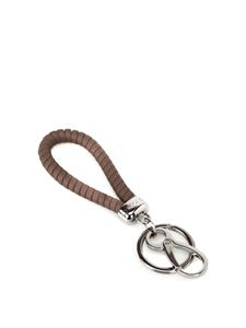 Tod's - Twist brown key holder