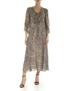 See by Chloé - Printed crepe multicolor midi dress