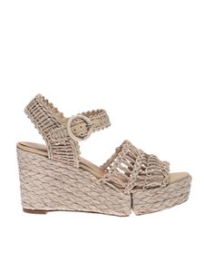Paloma Barceló - Natasha sandals in beige