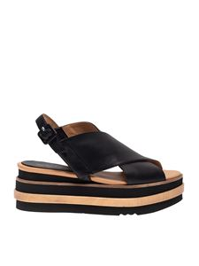 Paloma Barceló - Yehor sandals in black