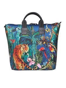 Dolce & Gabbana - Jungle printed neoprene tote