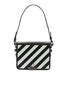Off-White - Black Diag Mini Flap bag