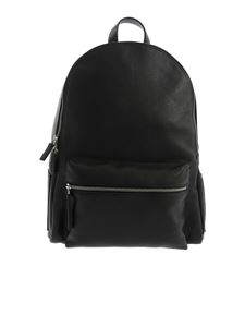 Orciani - Exterior pocket backpack in black