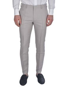 Paul Smith - Pantalone chino in misto seta grigia