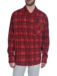 Off-White - Flannel Check LS shirt in red