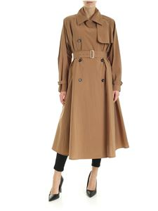 Max Mara - Falster double-breasted trench coat in brown