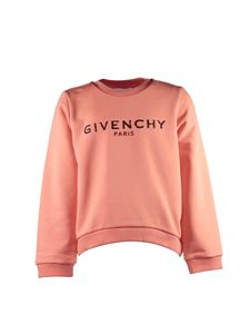 Givenchy - Salmon pink sweatshirt with vintage logo