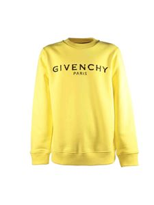 Givenchy - Yellow sweatshirt with vintage logo