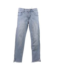 Stella McCartney Kids - Jeans con bande multicolor