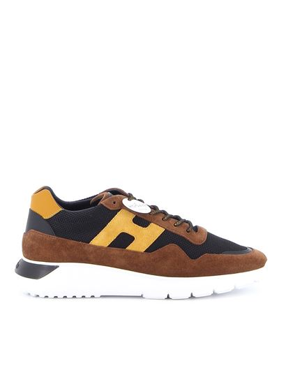 Hogan - Interactive³ suede and fabric sneakers