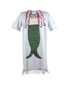Stella McCartney Kids - Abito Mermaid azzurro