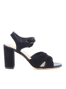 Tod's - Suede sandals in black