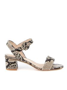 Tod's - Reptile print leather sandals