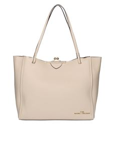 Marc Jacobs  - The Kiss Lock tote in light pink