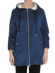 Herno - Reversible oversized jacket in blue