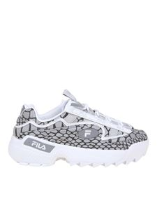 Fila - D-Formation Low printed sneakers in grey