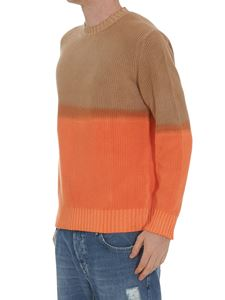 MSGM - Two-tone faded effect sweater
