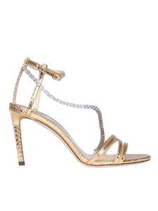 Jimmy Choo - Golden Thaia 85 sandals