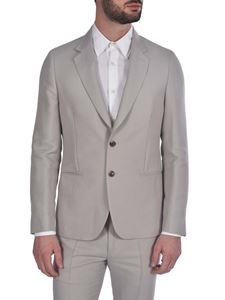 Paul Smith - Cotton and silk single-breasted jacket in grey