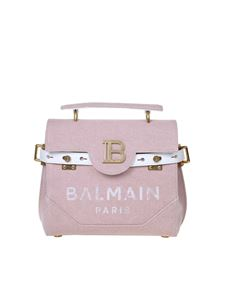 Balmain - B-Buzz 23 canvas bag in pink