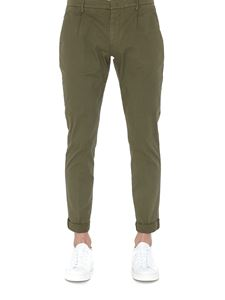 Dondup - Gaubert stretch cotton pants in green
