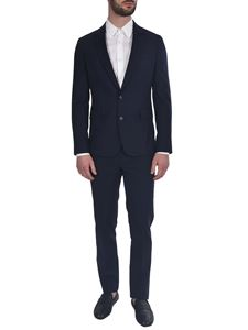 Paul Smith - Virgin wool single-breasted suit in blue