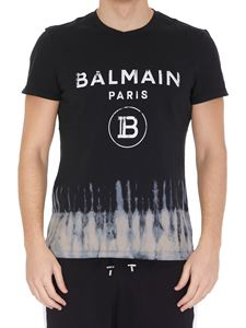 Balmain - Bleached effect cotton T-shirt