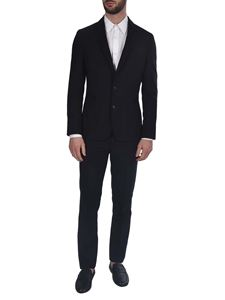 Paul Smith - Cool wool single-breasted suit in black