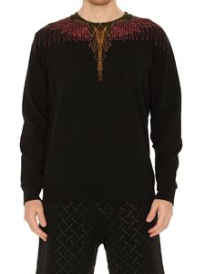 Marcelo Burlon County Of Milan - Bezier Wings sweatshirt in black