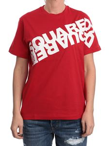 Dsquared2 - Logo lettering printed T-shirt