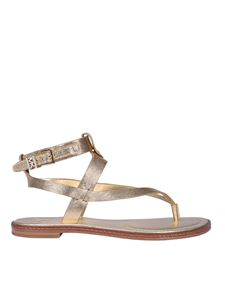 Michael Kors - Pearson mirror leather sandals