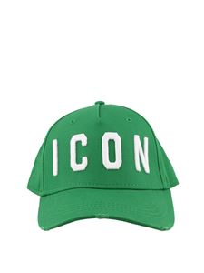 Dsquared2 - Icon embroidery green baseball cap