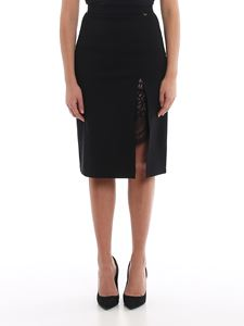 Twin-Set - Lace detailed skirt