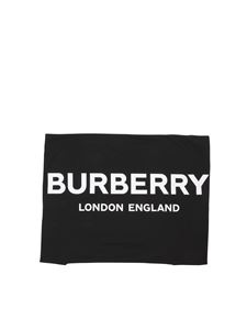 Burberry - Black blanket with logo