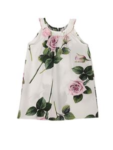 Dolce & Gabbana Jr - Floral print dress and coulotte